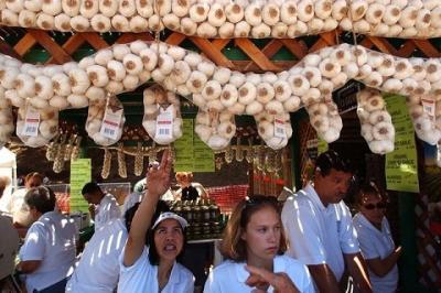 Lễ hội tỏi Gilroy ở Mỹ