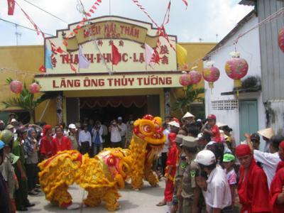 Lễ hội nghinh Ông ở TP Hồ Chí Minh