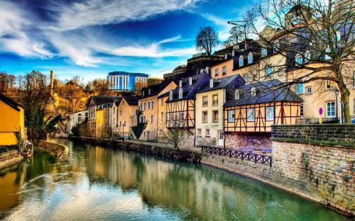 Mê mẩn vẻ đẹp hút hồn của thành phố Luxembourg
