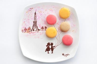 Macaron ngọt ngào hương vị nước Pháp