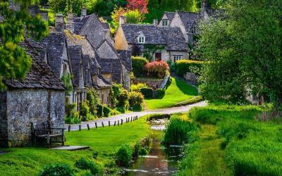 """Vẻ đẹp tại Bibury - ngôi làng """"không góc chết"""""""