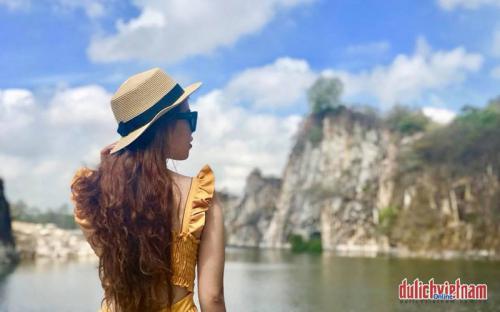 """Khu du lịch Núi Sập """"tiểu Hạ Long"""" ở An Giang"""