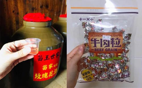 Review một số bánh kẹo, trái cây nên mua khi tới Phượng Hoàng cổ trấn