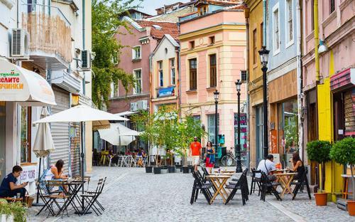 Lạc bước giữa Plovdiv trời Âu