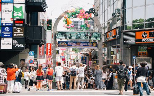 Một ngày ở khu phố sầm uất nhất Nhật Bản