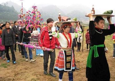Lễ hội rước Đất, rước Nước của người Tày ở Bắc Hà
