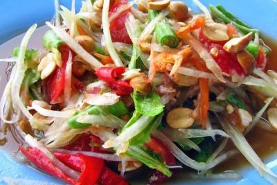 Som Tam - món ăn tinh tuý của ẩm thực Thái Lan
