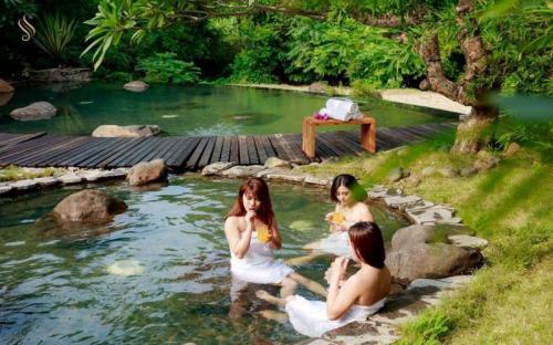Suối khoáng Kim Bôi - nơi lý tưởng cho du lịch nghỉ dưỡng ở Hòa Bình