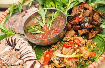 Những món ăn dân dã của dân tộc Mường ở Hòa Bình