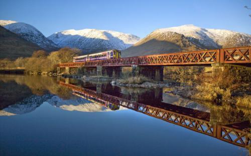 Ngơ ngẩn trên hành trình xe lửa đẹp nhất Scotland