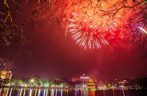 Khu vực Hồ Hoàn Kiếm – điểm bắn tầm cao quen thuộc