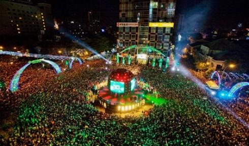 Chương trình Countdown năm mới ở Sài Gòn