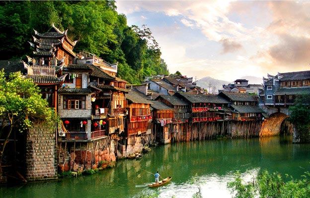 5 thị trấn sông nước đẹp mộng mơ ở Trung Quốc