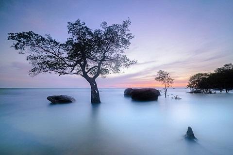Dáng đứng song đôi – Bãi Vòng, Phú Quốc