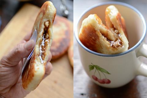 Bánh Hotteok trong ẩm thực đường phố Hàn Quốc