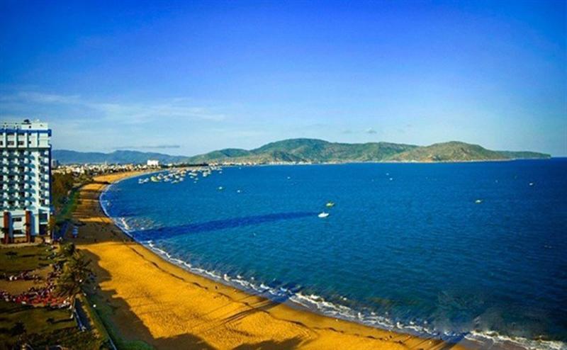 Vẻ đẹp được thiên nhiên ban tặng cho bãi biển Quy Nhơn