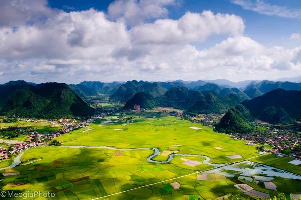 Đẹp mê hồn thung lũng Bắc Sơn xứ Lạng