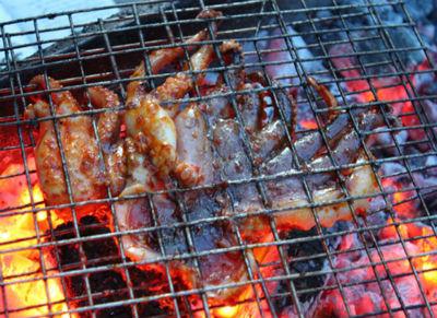 Bạc tuộc nướng đặc sản ở Vũng Tàu