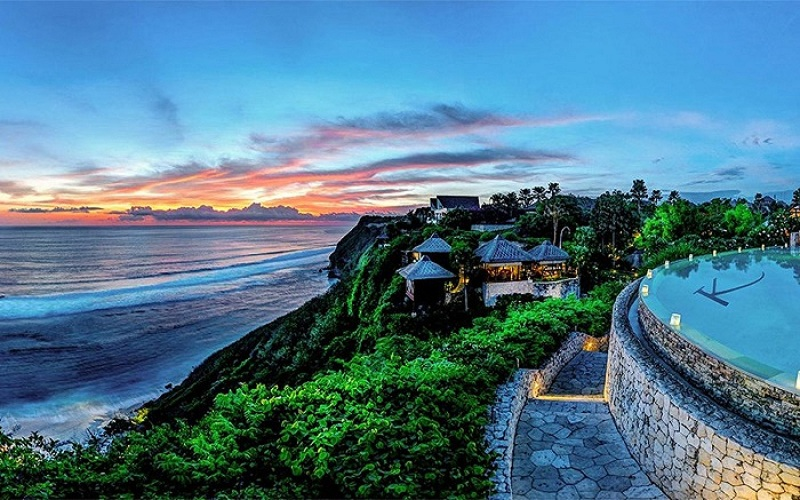 Một trong những địa điểm tham quan nổi bật ở Bali là bãi biển Amed