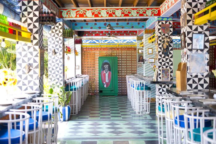 Một quán cà phê mang phong cách Mexico ở Bali