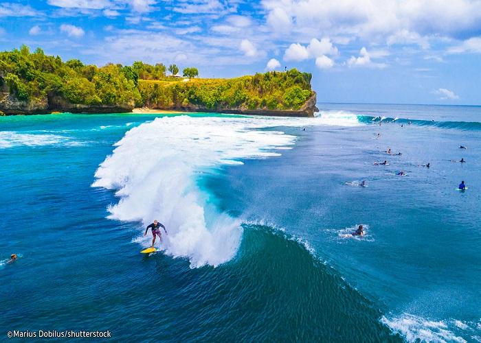 Balangan - bãi biển tuyệt vời để lướt sóng