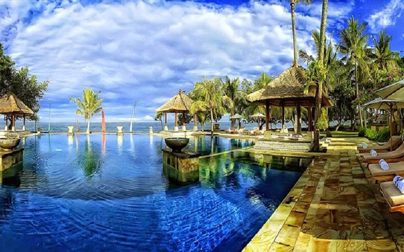 Đảo Bali có rất nhiều resort từ sang trọng đến bình dân