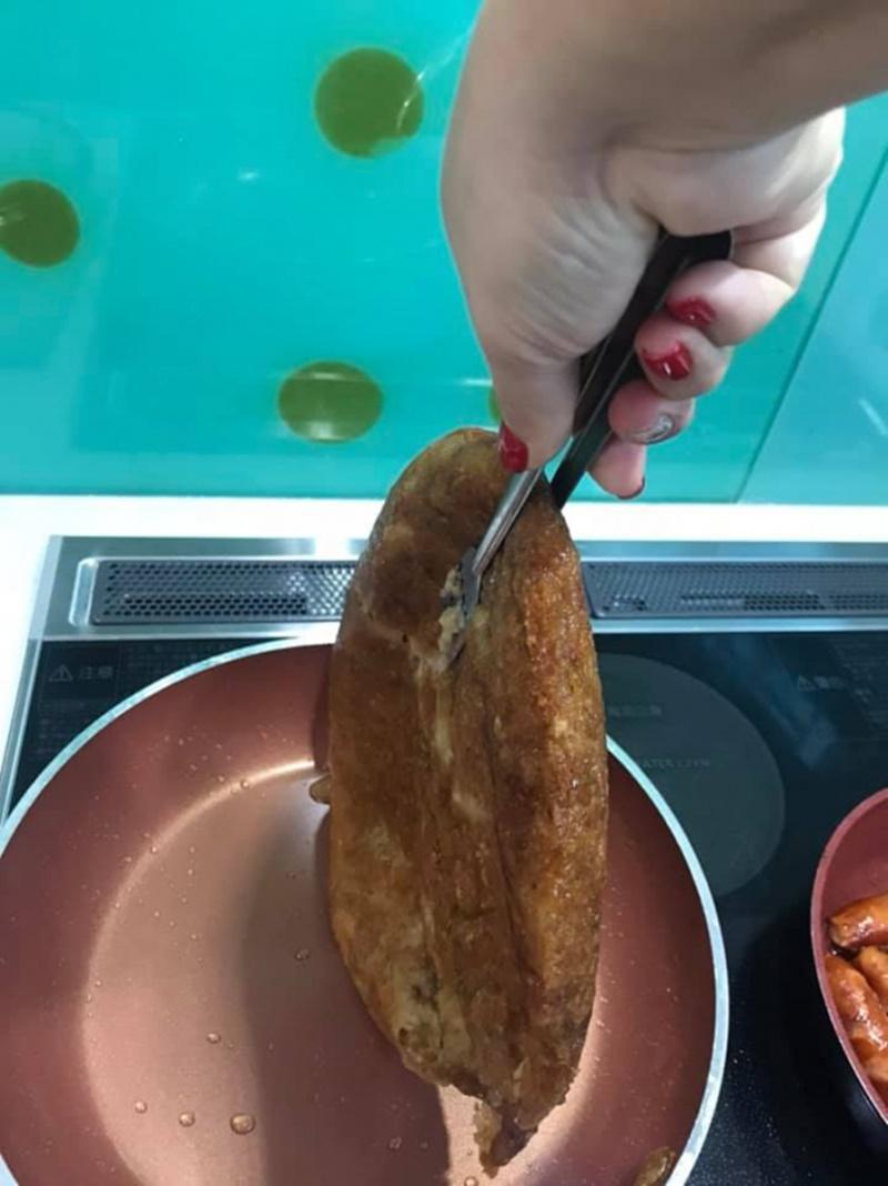 Bánh giòn rụm là có thể mang ra thưởng thức