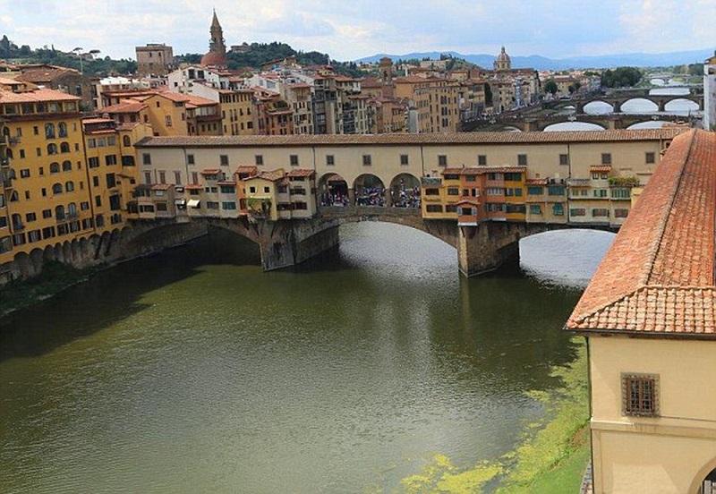 Hành lang nghệ thuật tại Florence