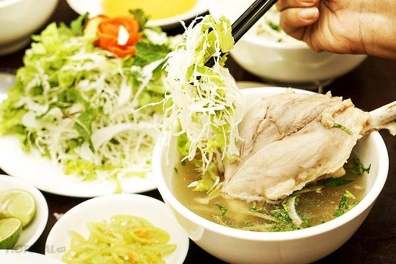 Bún chìa, món ăn nức tiếng phố núi Buôn Ma Thuột