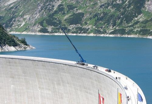 Đập Kolnbrein, Áo