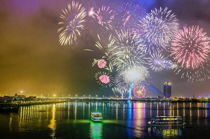 Cầu Rồng sẽ dừng phun nước, phun lửa trong dịp bắn pháo hoa quốc tế 2019