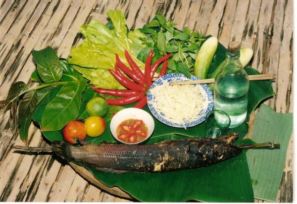 cá lóc nướng miền Tây