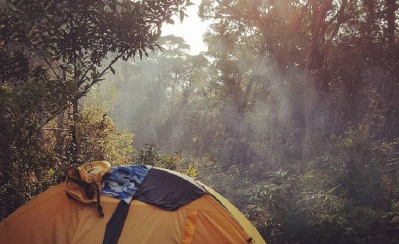Trải nghiệm cắm trại qua đêm ở Chư Yang Sin