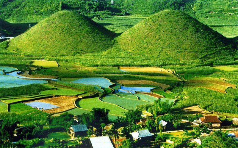 Hà Giang mùa nước đổ tuyệt đẹp