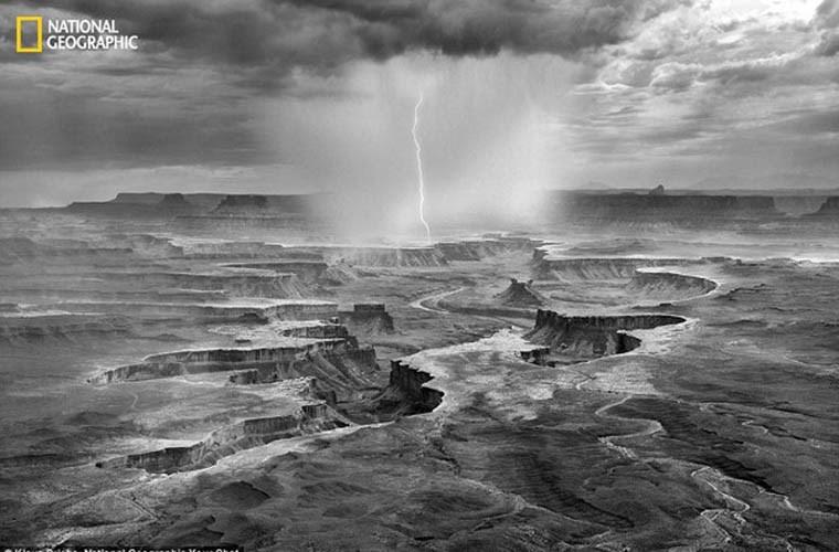 Cảnh sắc tuyệt đẹp chụp những hẻm núi đất trong mùa mưa 2013