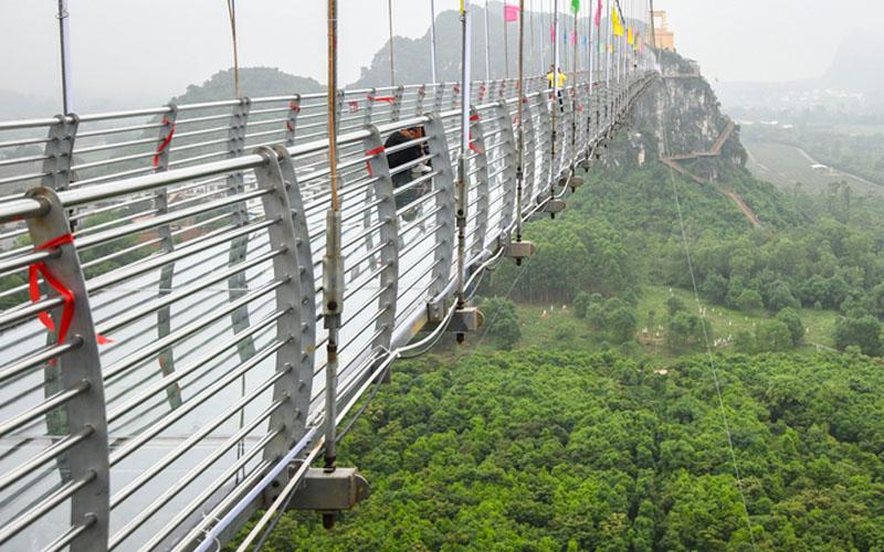 Cầu kính Quảng Tây Trung Quốc