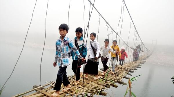 Những chiếc cầu treo đáng sợ nhất Việt Nam