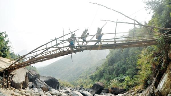 Những chiếc cầu treo đáng sợ nhất Việt Nam2