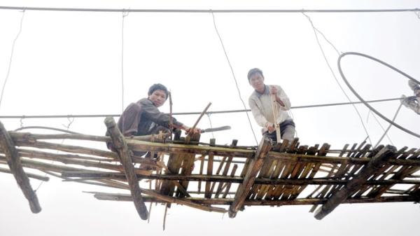 Những chiếc cầu treo đáng sợ nhất Việt Nam3