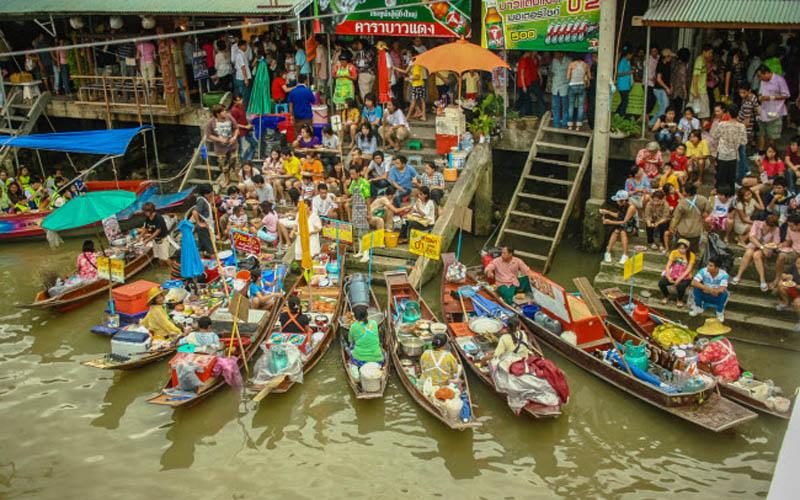 Những chợ nổi hấp dẫn nhất châu Á