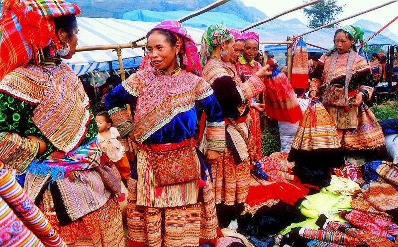 Chợ phiên Bắc Hà nét văn hoá độc đáo vùng cao