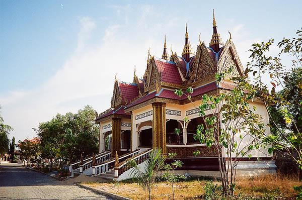 chùa Xá Xía - du lịch Hà Tiên