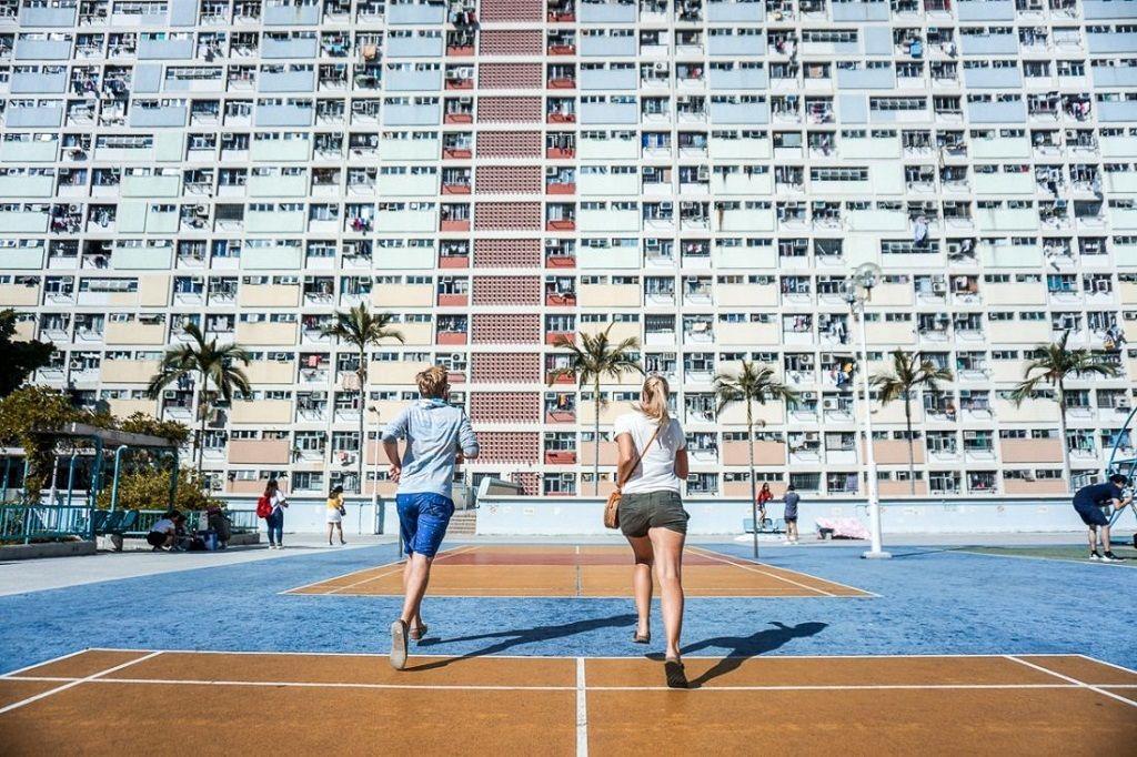 """Chung cư Choi Hung Estate điểm """"sống ảo"""" cực hot ở Hong Kong"""