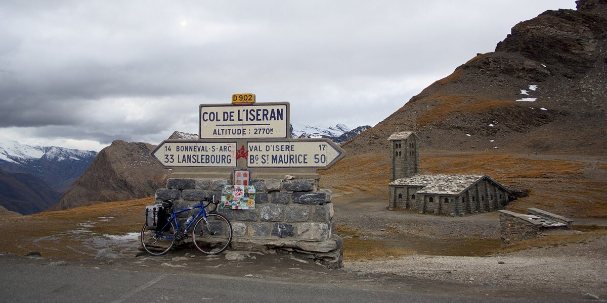 Col de l'Iseran ở Pháp