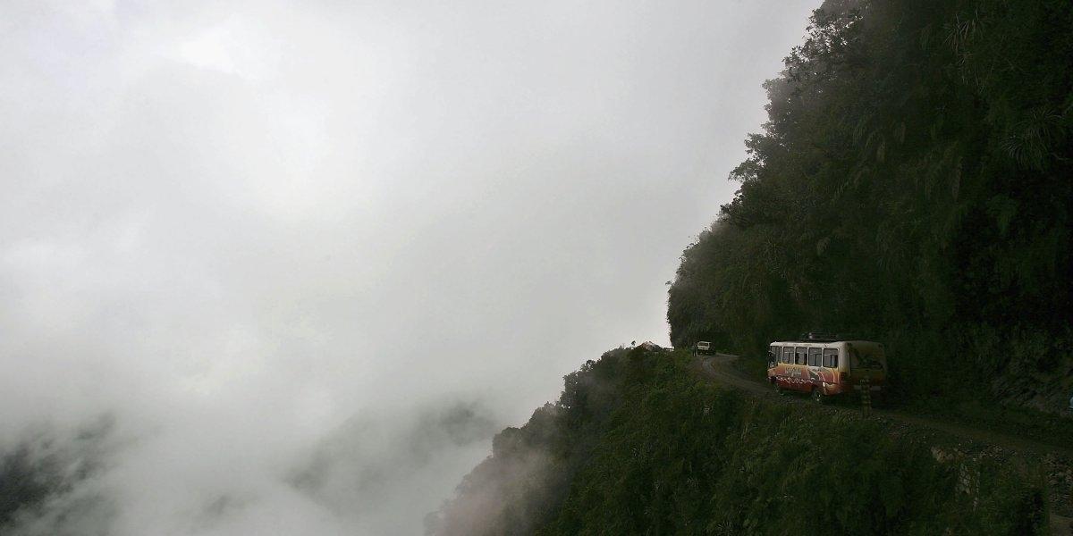 Đường Yungas ở Bolivia