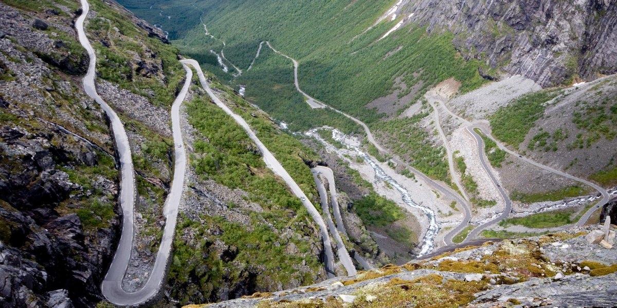 Đường Trollstigen ở Na Uy