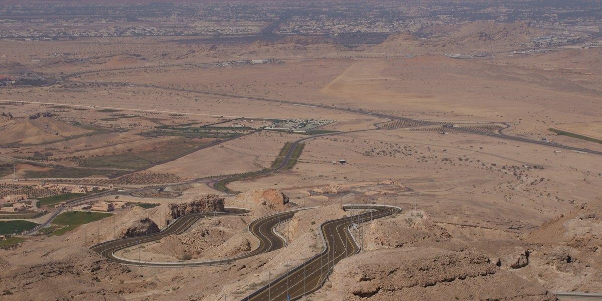 Jebel Hafeet Mountain tại Abu Dhabi