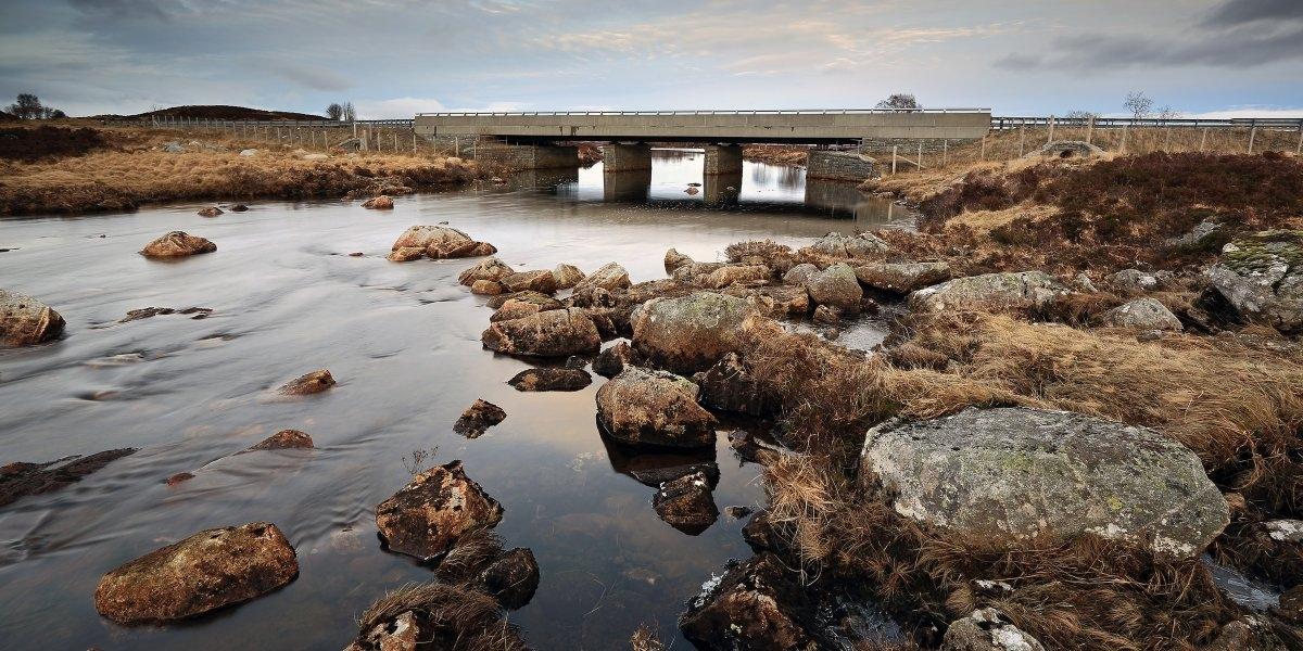 Đường A82 ở Scotland