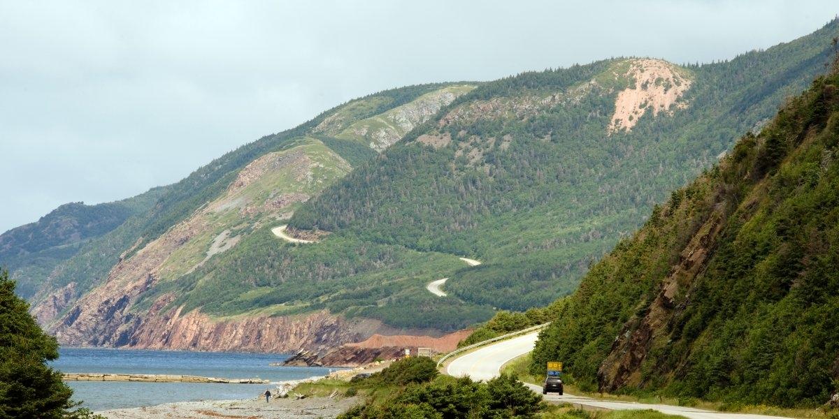 Cabot Trail ở Nova Scotia, Canada