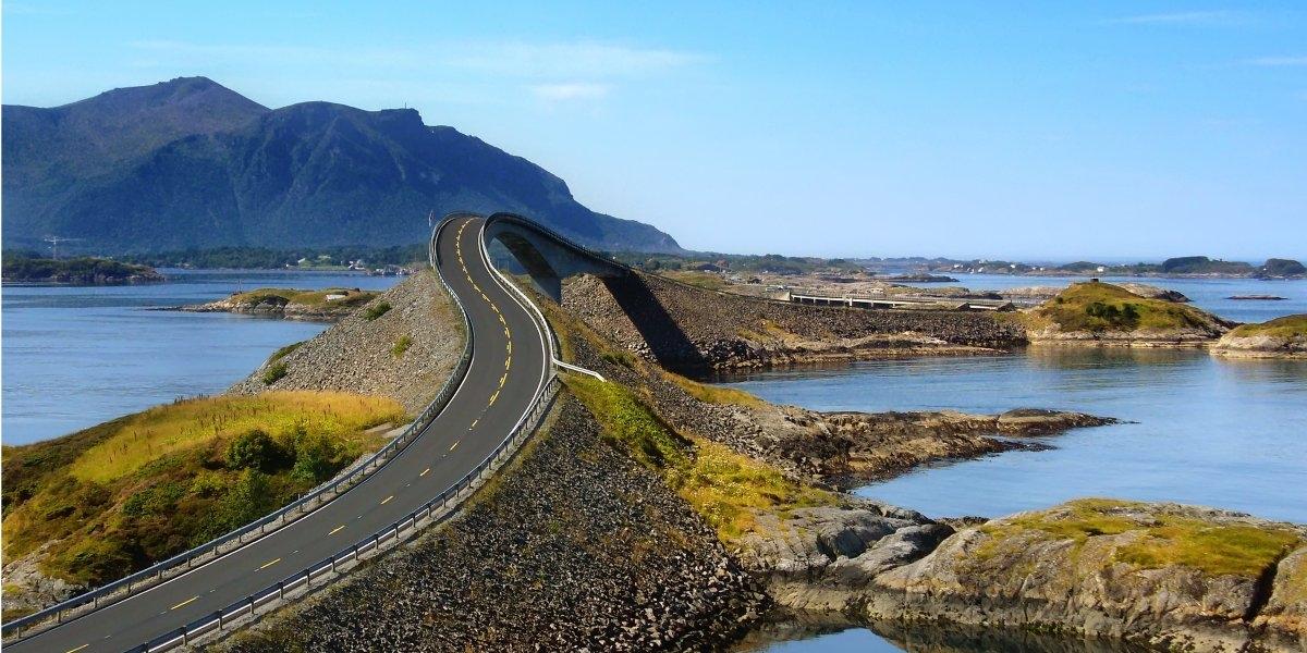 Con đường Atlantic ở Na Uy
